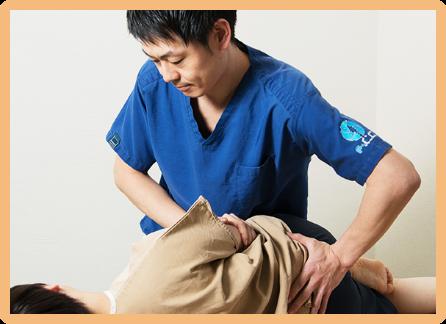 「腰部捻挫」の治療ならF.C.C.グループ
