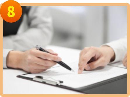 保険会社とのやり取りや書類の作成、手続きなどをアドバイスできる